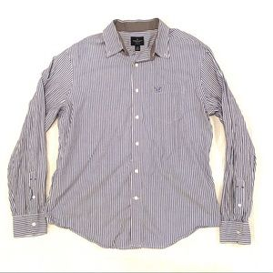 American Eagle Men's Size Large Button Up